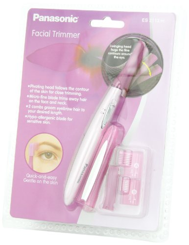 Tear panasonic es2113 facial trimmer fucking great